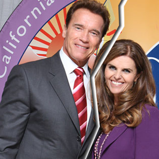 Arnold Schwarzenegger and Maria Shriver Split