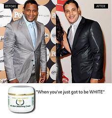 Bleaching skin cream