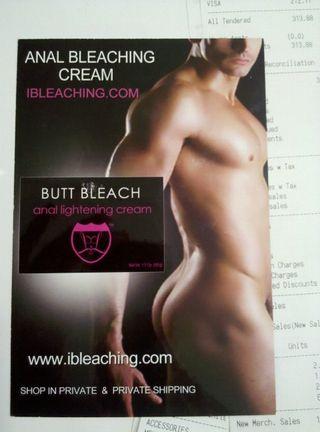 Anal bleach