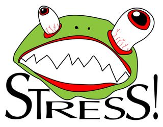 Stresses-frog